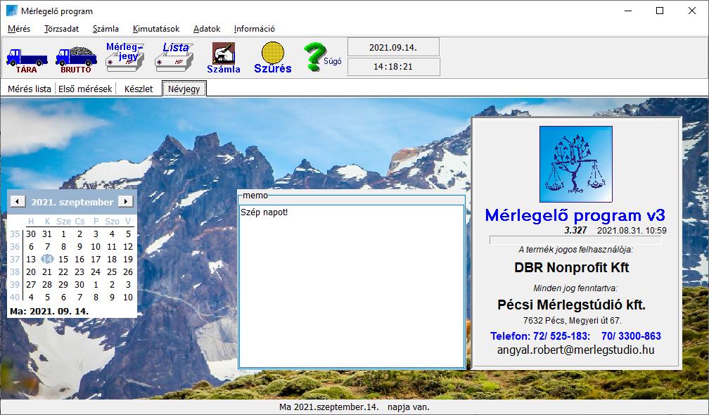 MST egyszerűsített portaprogram kezdőképernyő, több nyelven elérhető!