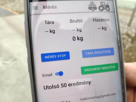 MST androidos applikáció
