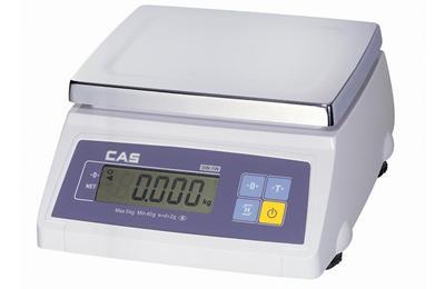 CAS SW-1S 20kg Asztali tömegmérő 10/20kg 5/10g