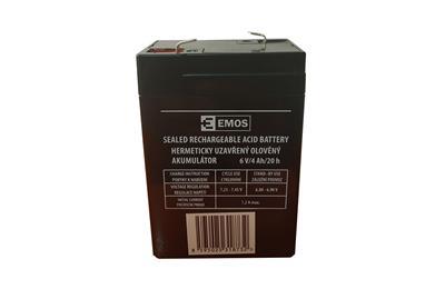 Akkumulátor 6V 4,5 Ah