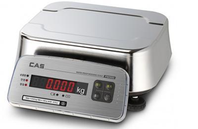 CAS FW500-30E vízhatlan asztali mérleg IP69 /LED/