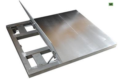 MST-L NÉGYCELLÁS LAPMÉRLEG (raktári, élelmiszer ipari)