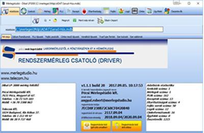 MST MDP szoftver
