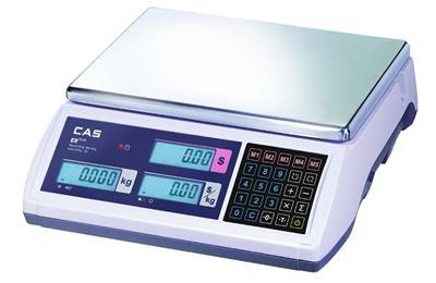 CAS ER Plus 30-CB Árszorzós lapos mérleg 15/30kg