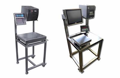 MST manuális ipari mérő címkéző