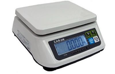 CAS SWII-30CS tömegmérő 15/30kg 5/10g