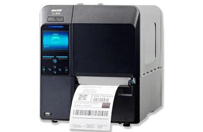 SATO CL4NX 203dpi nyomtató címke leválasztóval, felcsévélővel