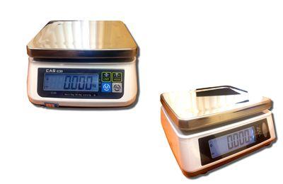 CAS SWII-15CD tömegmérő, 2 kijelző 6/15kg