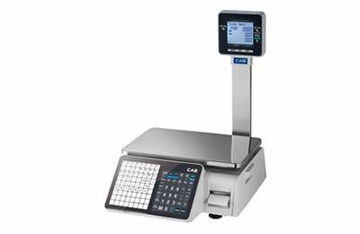 CAS CL3000-30P LAN nyomtatós mérleg 15/30kg