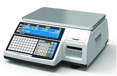 CAS CL5200N-15B LAN/USB nyomtatós mérleg 6/15kg