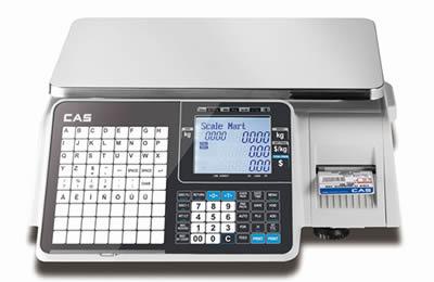 CAS CL3000-30B LAN nyomtatós mérleg 15/30kg