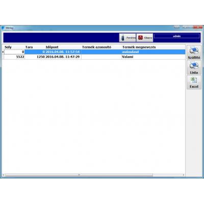 MST WIFI -s mérleg szoftver #2