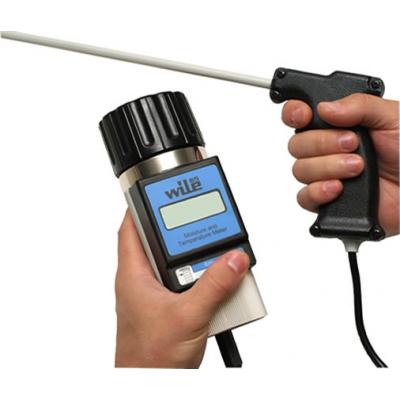 Wile65 opcionális nedvességmérő szonda