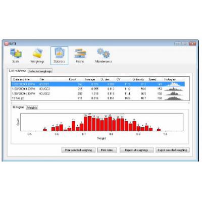 BAT1 mérleg szoftver