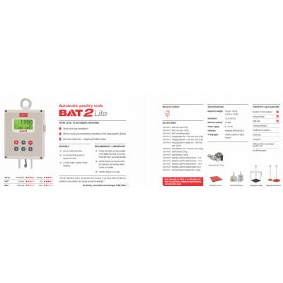 BAT2 baromfi mérleg Lite leaflet