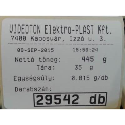 DLP CAS EC darabszámláló mérleggel