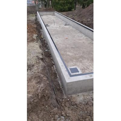 Aknás betonalap